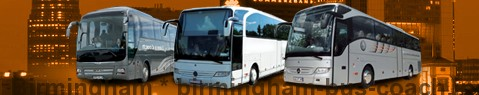 Autocar (Autobus) Birmingham | location | Limousine Center UK