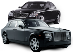 Luxury limousine in the United Kingdom
