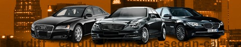 Limousine Cardiff | car with driver | Limousine Center UK