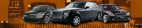 Luxury limousine Cardiff | Limousine Center UK