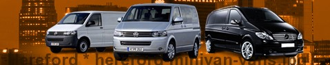 Minivan Hereford | hire | Limousine Center UK