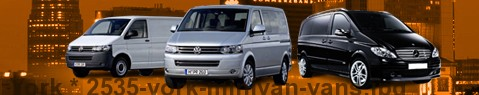 Minivan York | hire | Limousine Center UK