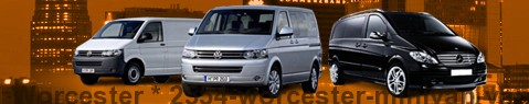 Minivan Worcester | hire | Limousine Center UK