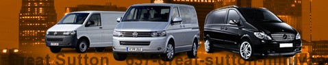 Minivan Great Sutton | hire | Limousine Center UK
