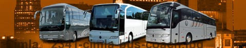 Coach (Autobus) Cimla | hire | Limousine Center UK