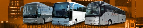 Coach (Autobus) Bury | hire | Limousine Center UK