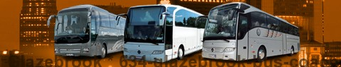 Coach (Autobus) Glazebrook | hire | Limousine Center UK