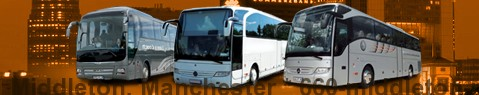Coach (Autobus) Middleton, Manchester | hire | Limousine Center UK