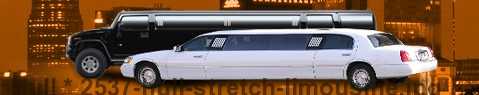 Stretch Limousine Hull | limos hire | limo service | Limousine Center UK