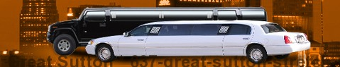 Stretch Limousine Great Sutton | limos hire | limo service | Limousine Center UK