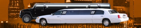 Stretch Limousine Renfrew | limos hire | limo service | Limousine Center UK