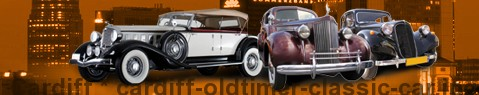 Vintage car Cardiff | classic car hire | Limousine Center UK