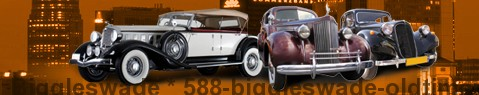 Vintage car Biggleswade | classic car hire | Limousine Center UK