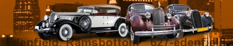 Vintage car Edenfield, Ramsbottom | classic car hire | Limousine Center UK