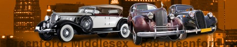 Vintage car Greenford, Middlesex | classic car hire | Limousine Center UK