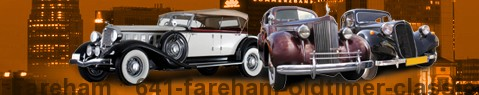 Vintage car Fareham | classic car hire | Limousine Center UK