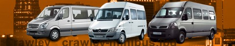 Minibus Crawley | hire | Limousine Center UK