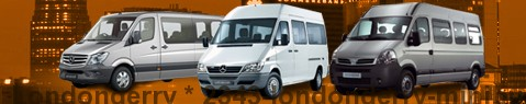 Minibus Londonderry | hire | Limousine Center UK