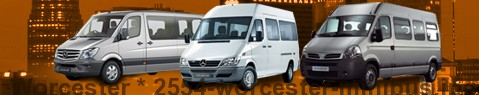Minibus Worcester | hire | Limousine Center UK