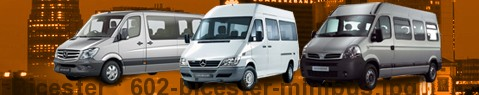 Minibus Bicester | hire | Limousine Center UK