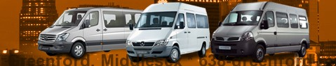 Minibus Greenford, Middlesex | hire | Limousine Center UK