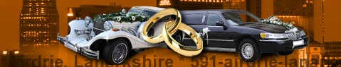 Wedding Cars Airdrie, Lanarkshire | Wedding limousine | Limousine Center UK