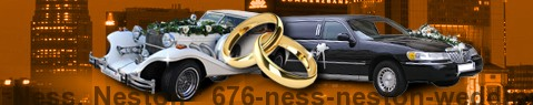 Wedding Cars Ness, Neston | Wedding limousine | Limousine Center UK