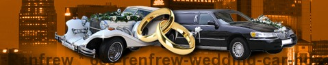 Wedding Cars Renfrew | Wedding limousine | Limousine Center UK